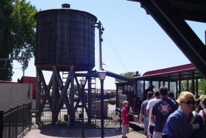 Cedar Point and Lake Erie (CP&LE) RR refueling