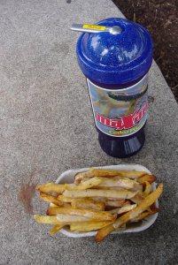 Garlic Fries, a Cedar Point tradition