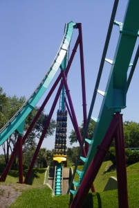 Here's the Dive loop, the worlds first when Kumba opened in 1993. (2)