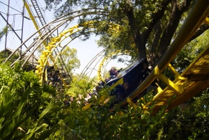 I've got to hand it to Busch Gardens. This is the most beautifully landscaped corkscrew coaster I've seen (2)