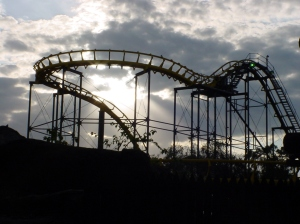 The inversion was only just invented when this ride was built. At that time, the ride was very popular. (2)